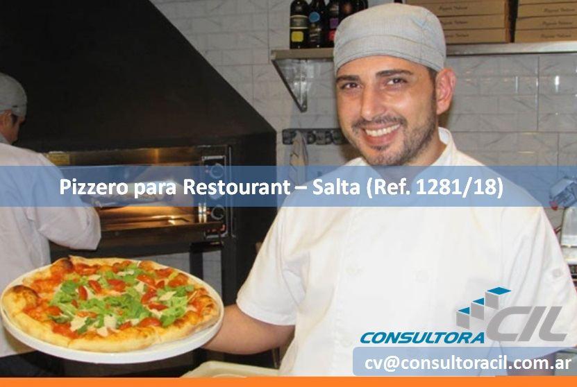 Pizzero para Restaurant - Salta (Ref. 1281/18) - Consultora CIL
