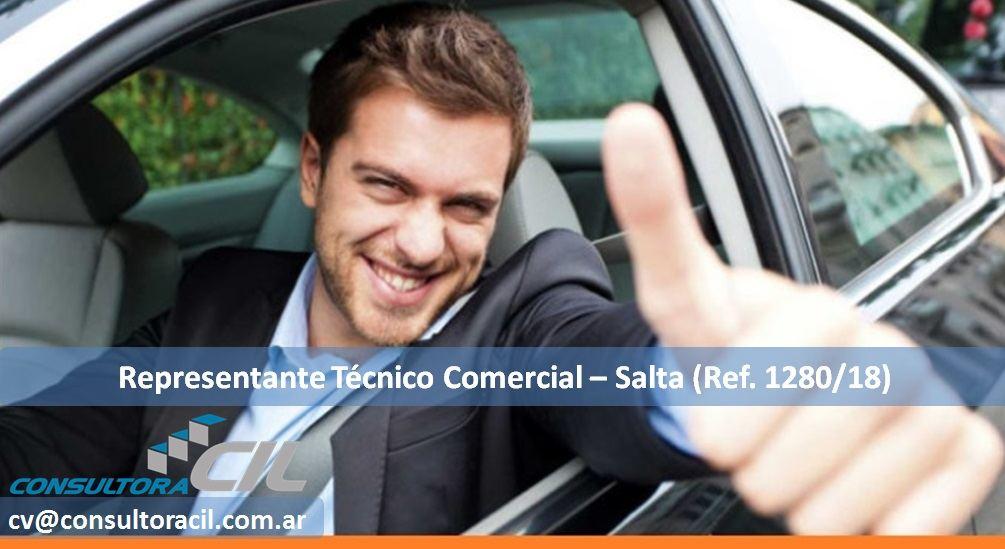 Representante Técnico Comercial – Salta (Ref. 1280/18)