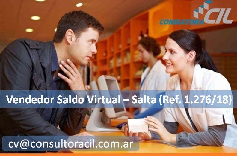 Vendedor Saldo Virtual – Salta (Ref. 1.276/18)