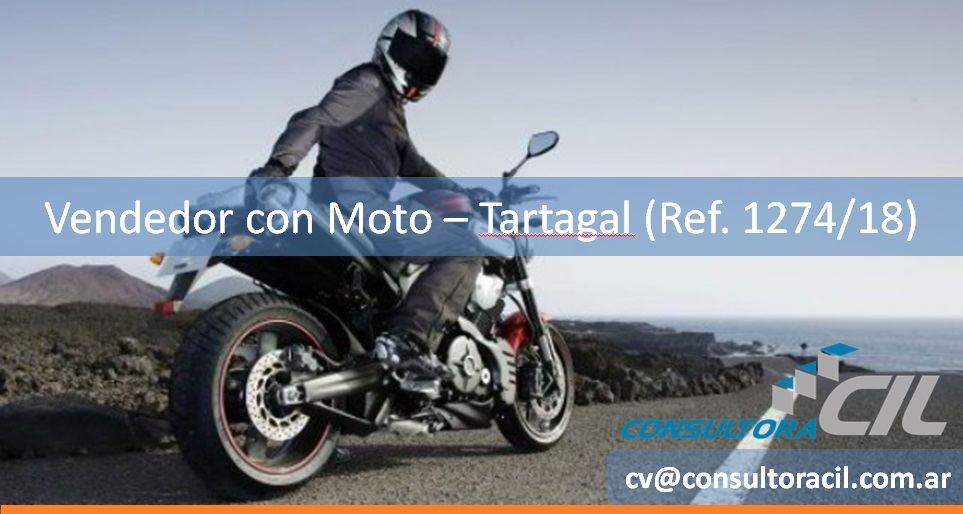 Vendedor con Moto – Tartagal (Ref. 1274/18)